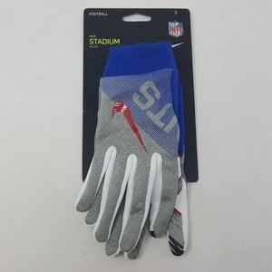 Nike Stadium NY Giants Football Gloves Adult Sz S
